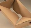 skládání zásilkové krabice